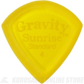 GRAVITY GUITAR PICKS GSUS4M (4.0mm, Yellow, Master Finish(Unpolished)) (ピック)(ネコポス)【ONLINE STORE】