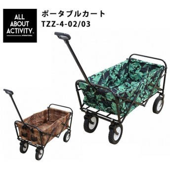 ALL ABOUT ACTIVITY オールアバウトアクティビティ ポータブルカート TZZ-4-02/03