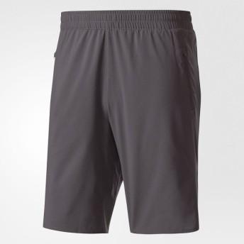 (セール)adidas(アディダス)ランニング メンズショーツ パンツ ULTRAハーフショーツM BUF81 BQ9386 メンズ グレーファイブF17