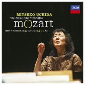 【CD】モーツァルト:ピアノ協奏曲第9番&第21番/内田光子 ウチダ ミツコ