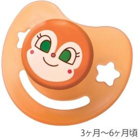 おしゃぶり ドキンちゃん M シリコン乳首 日本製 キャラクター キャップ付き ( ベビーグッズ 赤ちゃん用品 アンパンマン )