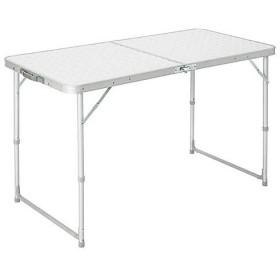 (セール)Alpine DESIGN(アルパインデザイン)キャンプ用品 ファミリーテーブル 2WAY フォールディングテーブル 60X120 AD-S15-402-009