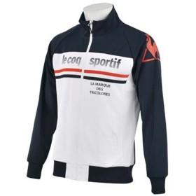(セール)le coq sportif(ルコックスポルティフ) メンズスポーツウェア ウォームアップジャケット ウォームアップジャケット QB-551643 NVY メンズ NAVY