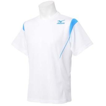 (セール)MIZUNO(ミズノ)メンズスポーツウェア 半袖ベーシックTシャツ 半袖機能Tシャツ 32JA502501 メンズ ホワイト