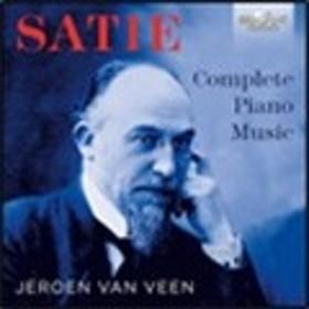イェローン・ファン・フェーン Satie: Complete Piano Music CD
