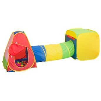 ボールハウス ボール 50個付 トンネル付 ( ボール ハウス 折り畳み テント ) 新商品 10