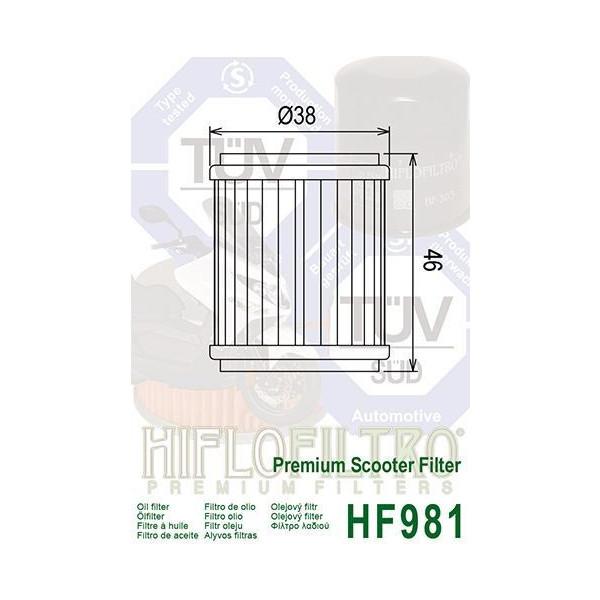 Hiflo HF169 Oil Filter