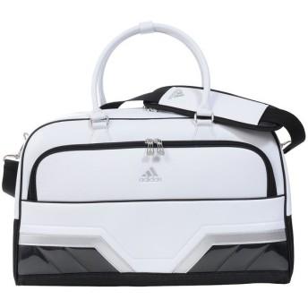(送料無料)adidas(アディダス)ゴルフ メンズその他バッグ ケース シルバーロゴボストンバッグ AWU26-A92499 メンズ FREE ホワイト