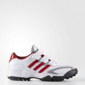 (セール)adidas(アディダス)野球 トレーニングシューズ アディピュアTR K GUB63 F37776 ボーイズ クリスタルホワイト S16/パワーレッド/シルバーメット