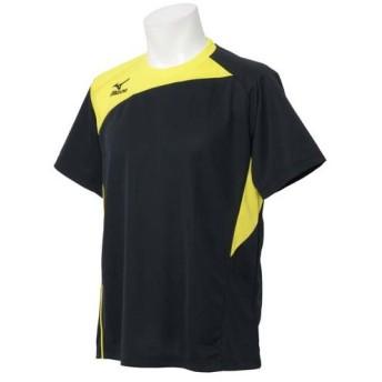 (セール)MIZUNO(ミズノ)メンズスポーツウェア 半袖ベーシックTシャツ 半袖機能Tシャツ 32JA502709 メンズ ブラック