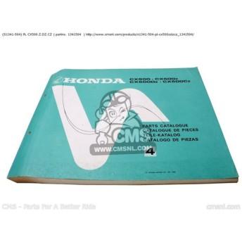 CMS シーエムエス (S1341504) PLP CX500 CX500Z CX500DZ CX500CZ HONDA CX500 CX500Z CX500DZ CX500CZ (S1341504)