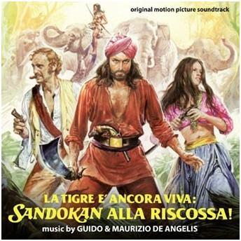 Guido De Angelis La Tigre E Ancora Viva: Sandokan Alla Riscossa!<限定盤> CD