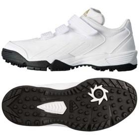 adidas(アディダス)野球 トレーニングシューズ adizero JP Trainer 3 K G66885 ボーイズ WHITE/GOLD