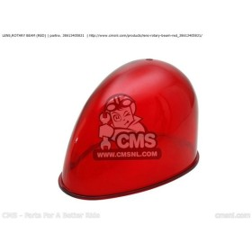 CMS シーエムエス LENS,ROTARY BEAM (RED) HONDA CB250P 1996 (T) CHINA / PLR SS