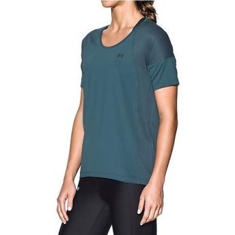 (セール)UNDER ARMOUR(アンダーアーマー)レディーススポーツウェア Tシャツ UA ARMOUR SPORT SS 1292296 レディース MARLIN BLUE/MARLIN BLUE/GRAPHITE