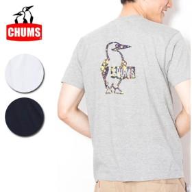 チャムス chums Booby Splatter T-Shirt ブービースプラッターTシャツ ch01-1464 【トップスメンズ/Tシャツ/半袖/アウトドア】【メール便・代引不可】