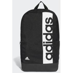(セール)adidas(アディダス)スポーツアクセサリー バッグパック リニアロゴバックパック BVB25 S99967 NS ブラック/ブラック/ホワイト