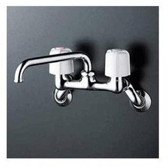 ∠◆在庫有り!台数限定!KVK水栓金具 【KM14N2】2ハンドル混合栓