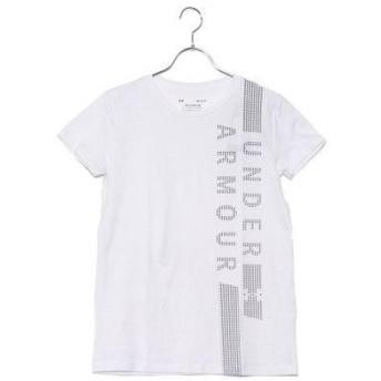 アンダーアーマー UNDER ARMOUR レディース フィットネス 半袖Tシャツ UA Graphic Classic Crew VERTICAL