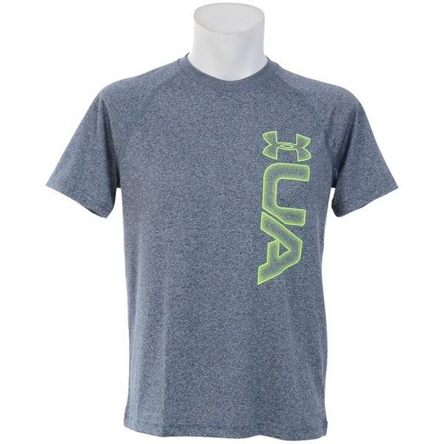 (セール)UNDER ARMOUR(アンダーアーマー)メンズスポーツウェア 半袖機能Tシャツ 18S UA TECH GRAPHIC SS TEE 1311271 62U メンズ ALH/QKL