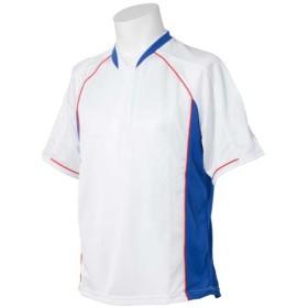 (セール)SPORTS AUTHORITY スポーツオーソリティ  サッカーウェア ゲームシャツ メンズ ホワイト/ブルー/レッド S5-21001-704 WHRYRD