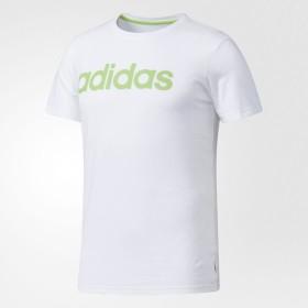 (セール)adidas(アディダス)メンズスポーツウェア 半袖シャツ BC Tシャツ M MLH02 BQ0357 メンズ ホワイト/ソーラーグリーン