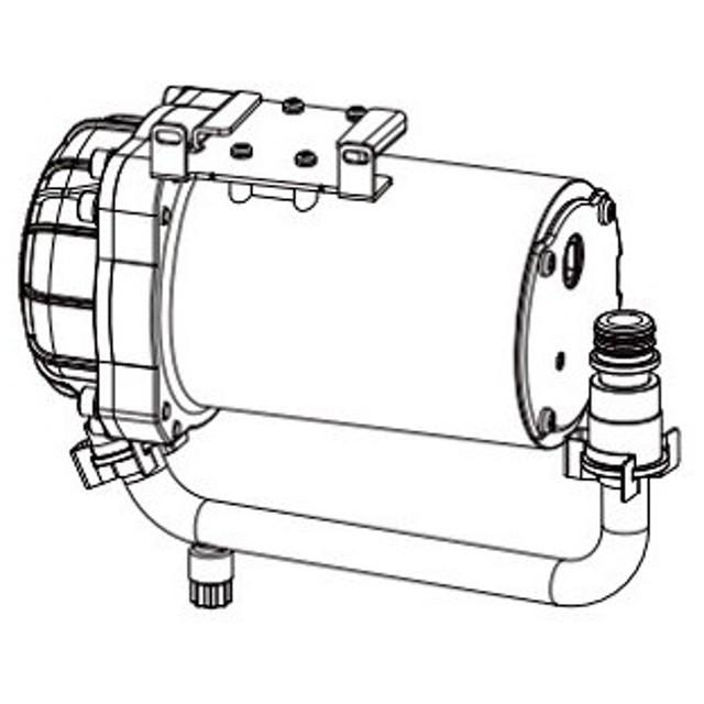 トイレ関連部材 INAX CWA-261 シャワートイレ用付属低流動圧 ブースター(後付用) [◇]
