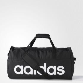 adidas(アディダス)スポーツアクセサリー ボストンバッグ リニアチームバッグ M BFP15 AJ9923 M ブラック/ブラック/ホワイト