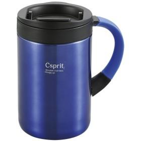 CAPTAIN STAG(キャプテンスタッグ) シーエスプリ ダブルステンレスマグカップ350(ブルー) M5377