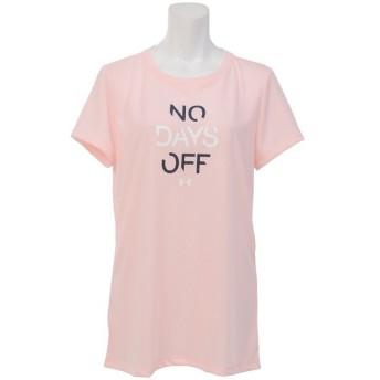 (セール)UNDER ARMOUR(アンダーアーマー)レディーススポーツウェア Tシャツ UA THREADBORNE NO DAYS OFF SS 1302220 レディース BALLET PINK/MIDNIGHT...