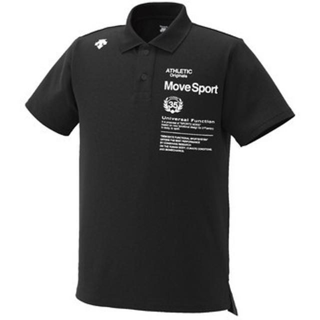 (セール)DESCENTE(デサント)メンズスポーツウェア 半袖機能ポロシャツ 半袖機能ポロシャツ TOUGH ポロシャツ DAT-4504 メンズ BLK