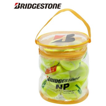 ブリヂストン BRIDGESTONE 硬式テニスボール ノンプレッシャー 12球 BBA46BT
