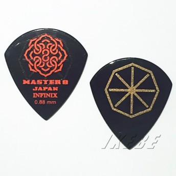 MASTER8 JAPAN / INFINIX JAZZ TYPE HARD GRIP 0.88mm (IFS-JZ088) ×10枚セット