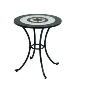 モザイクテーブル ブラック LY-M-5051-1T 93275(FB)