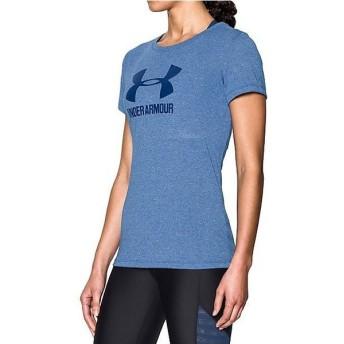 (セール)UNDER ARMOUR(アンダーアーマー)レディーススポーツウェア Tシャツ UA THREADBORNE TRAIN SPORT SS TWIST 1290610 レディース ROYAL/METALLIC...
