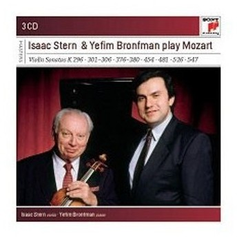 アイザック・スターン Isaac Stern and Yefim Bronfman Play Mozart - Violin Sonatas<完全生産限定盤> CD