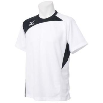 (セール)MIZUNO(ミズノ)メンズスポーツウェア 半袖ベーシックTシャツ 半袖機能Tシャツ 32JA502790 メンズ ブラックXイエロー
