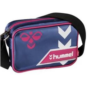 (セール)hummel(ヒュンメル)スポーツアクセサリー エナメルバッグ小型 ショルダーバックXS HFB3106 7024