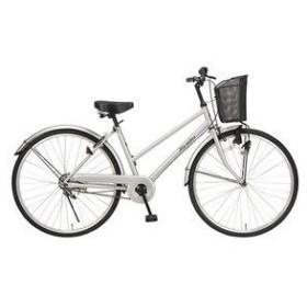 マイパラス 自転車/シティサイクル 26インチ M-512S シルバー