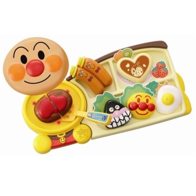 アンパンマン ジュージューやけるよ!おこさまランチプレート  おもちゃ こども 子供 知育 勉強 3歳