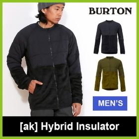 BURTON バートン AK ハイブリッド インサレーター バートン メンズ ウェア スノボードウェア スノボー フリース ジャケット 雪山 バック フェス