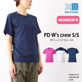 カリマー PDクルー S/S ウィメンズ Tシャツ   正規品   karrimor ベースレイヤー 半袖 女性 ウィメンズ PD W's cre フェス