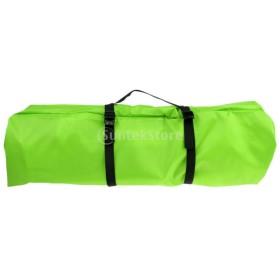 キャンプ テント 寝袋 圧縮  バックパック 収納袋 全3色 - 緑