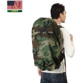 実物 新品 米軍 ウッドランド LC-1フィールドパック カバー バッグ バックパック 迷彩 カモフラージュ デッドストック