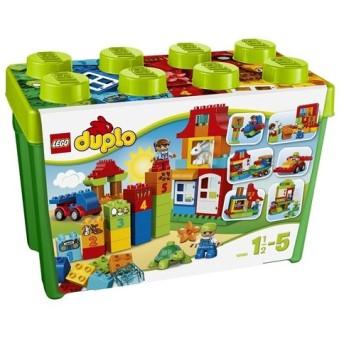 LEGO 10580 デュプロ・みどりのコンテナスーパーデラックス おもちゃ こども 子供 レゴ ブロック 1歳6ヶ月