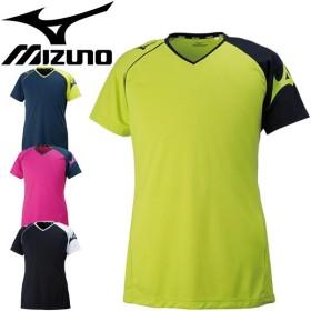 プラクティスシャツ 半袖 メンズ レディース/ミズノ Mizuno バレーボール ウェア Tシャツ/練習着/V2MA8082