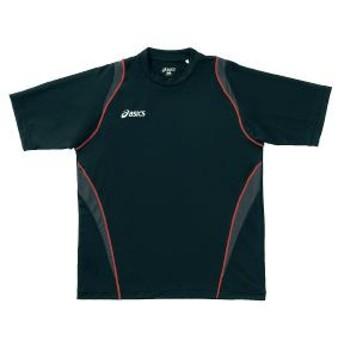 アシックス asics tシャツ xa6122 カラー:ブラック 90 トレーニングシャツ ウェア