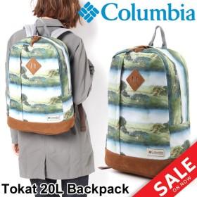 バックパック アウトドア コロンビア Columbia トカトバックパック 20L リュック メンズ レディース デイパック 通勤 通学 鞄 A4対応 正規品/PU8136