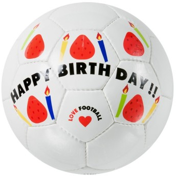 SFIDA スフィーダ SFIDA フットサルボール Happy Birthday BSFHB01 カラー ホワイト サイズ MINI