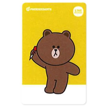 PHOENIX 【フェニックス】 ダーツカード 2nd BROWN (DARTS CARD)